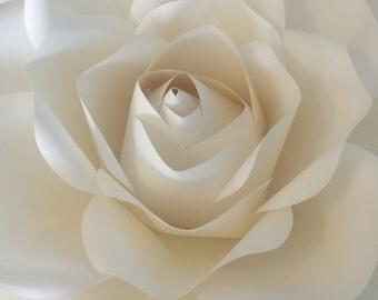 Paper flower, large handmade paper rose