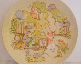 Country Kids Collector's Dessert Plate 1991 Plate 1 of 6