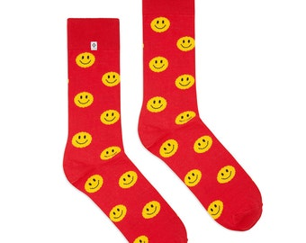 Smile Green Socks