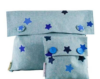 Game bags keeps-all stamped star