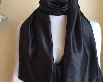 Exremelly Elegant and Super Soft Scarf, Black Sarf