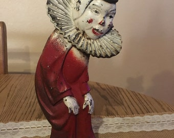 Vintage 1940 Hubley Clown