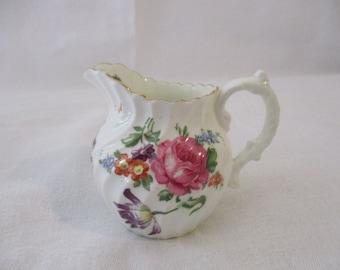Aynsley Bone China Mini Creamer Floral Pattern