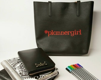 Plannergirl Tote - special pricing for my fellow plannergirls