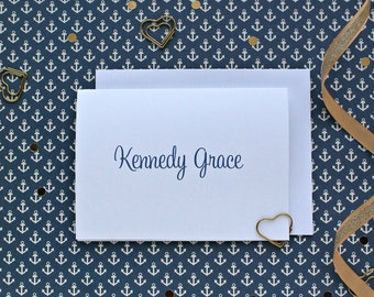 Personalized Note Cards/Blank Stationary/Blank Note Cards