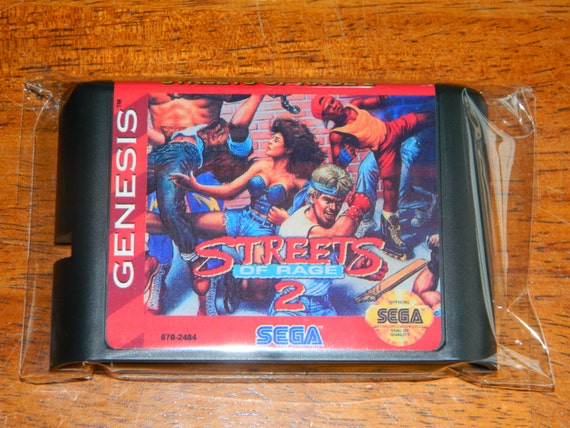 Streets Of Rage 2 Fan Made Sega Genesis By Retrogamingworld