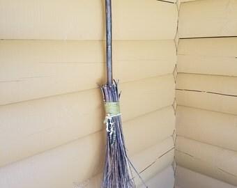 """Besom Broom - Homemade Broom - """"Crooked Handle"""""""