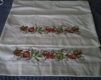 Hand  Embroiderd  Pillowcases