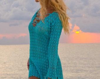 Crochet Beach Cover-Up