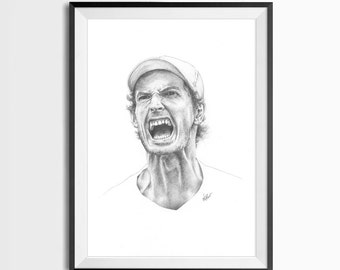Andy Murray Portrait