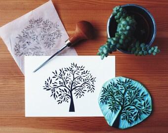 Olive Tree - Original Handprint