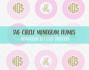 Master Circle Svg, Master circle font, Circles Monogram Svg Circle Monogram Font Frames Circle Svg Monogram Frames svg cutting monogram svg