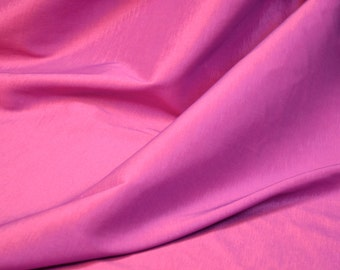 Fuchsia Stretch Taffeta Fabric