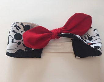 Mickey Mouse headband for babies and toddlers