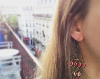 Bohemian earrings - Magali