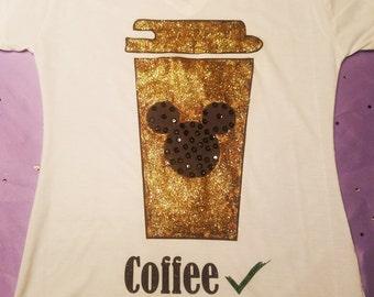 Disney Coffee Shirt