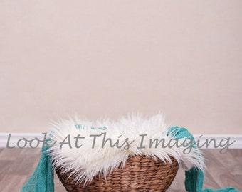 Baby basket fur layer digital background