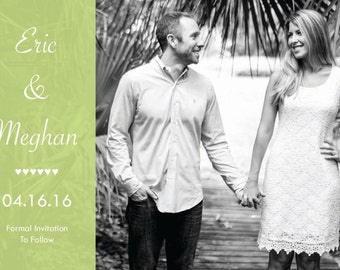 Engagement Announcement / Save The Date