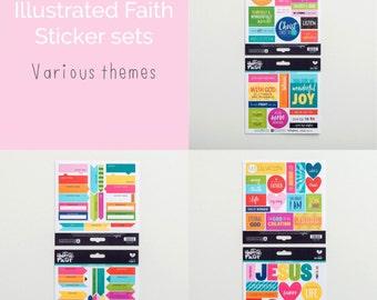Illustrated Faith Sticker set