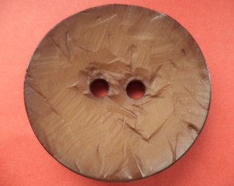 Large 46mm Brown (2451) button