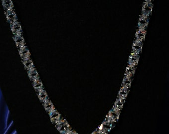 Gorgeous Crystal V-Shape Necklace
