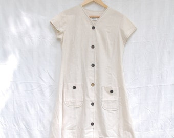 1960's Louis Young Vintage Button-Up Dress