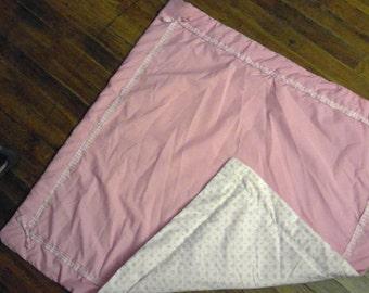 Girl's Pink Baby Blanket