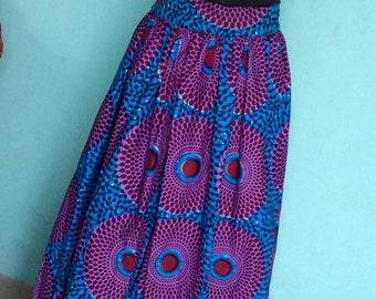 Tomi Ankara skirt, Ankara maxi skirts, Ankara fabric, African fabric, African maxi skirt, African skirt, African print skirt, Maxi skirts