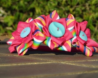 Flowered Headband.