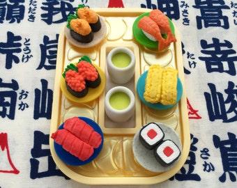 Sushi erasers -Conveyor belt sushi- Made in japan
