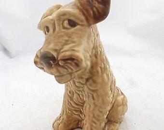 Beautiful Vintage SYLVAC 1379 SCOTTIE Dog Medium Pottery Ornament