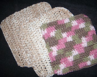 Set of 3 dish cloths