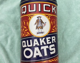 Quaker Oats Decorative Tin-Limited Edition Reproduction