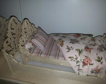 Doll bed linen set - 4 pcs.
