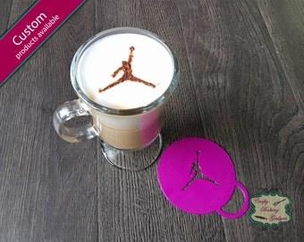 Air Jordan - Coffee Stencil