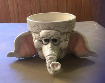 Elephant planter pot