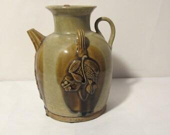 Vintage Hand Made Tea Jar