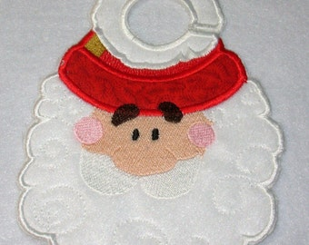 """FSA Santa Door Hangers Projects  ( 10 """"Free Standing Applique"""" Machine Embroidery Designs from ATW )"""