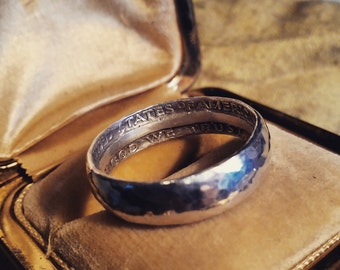 U.S. Silver Coin Rings