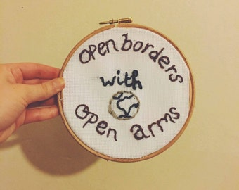 Open Borders With Open Arms