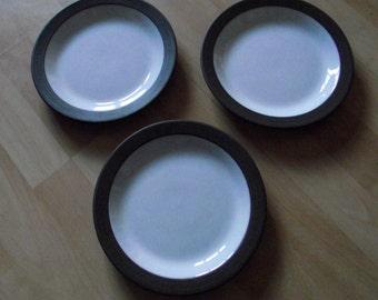 RETRO Hornsea Palatine 1970's Plates x 3 set of three