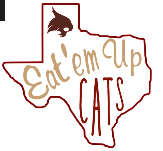 Eat Em Up Cats Texas State