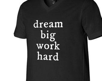 Dream Big Work Hard, Dream Big shirt, Work Hard shirt, entrepreneur shirt, Plexus promo, Plexus apparel, Plexus tshirt, Plexus swag, Plexus