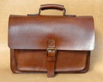 Leather handmade bag, messenger bag, crossbody bag, laptop bag, etc.