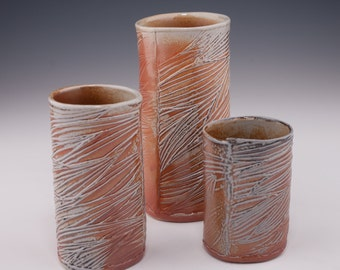 Medium Salt fired Tumbler