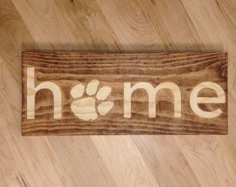 Home - Clemson Tiger Paw Wall Art