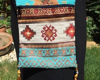 Made in Turkey From Grand Bazaar Bag Shoulder Kilim Bag Traditional Bag  Hanmade Bag