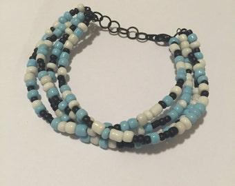 Four Strand Beaded Bracelet