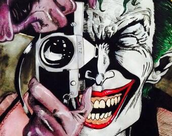 The Joker A4 Print