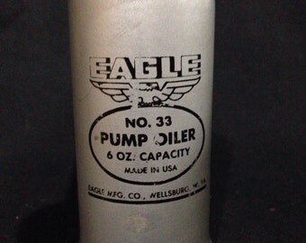Vintage Eagle no.33 Pump Oiler